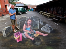 3D art Upfest Bristol