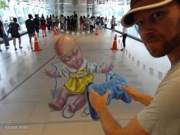 3D Street Art Bangkok