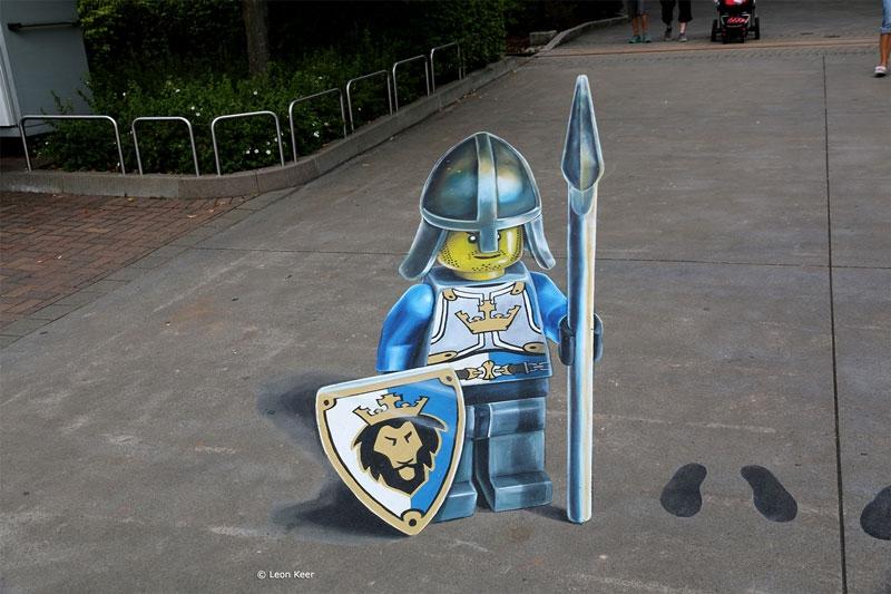 3d-street-painting-lego-knight