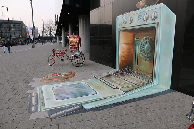 anamorphic art Archives - 3D streetpainting, Street Art by 3D street