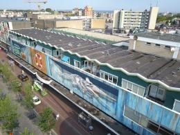 3D mural Den Helder by Leon Keer