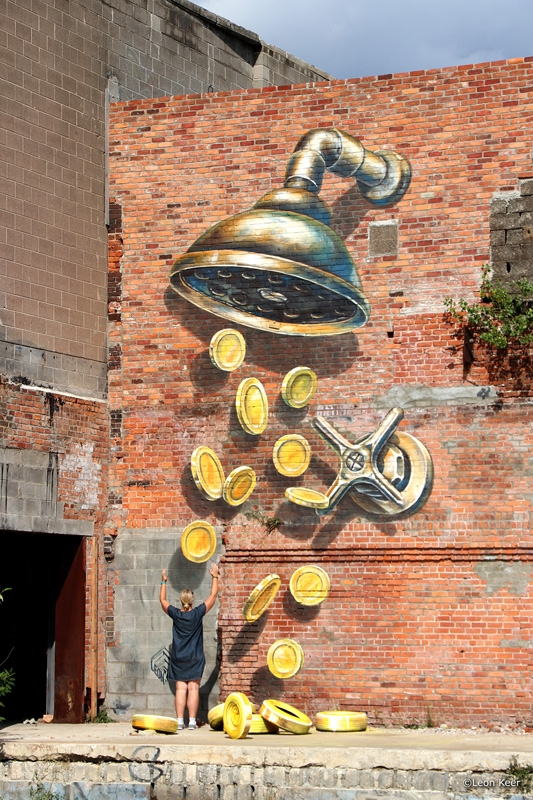 coin-shower-3d-mural-detroit