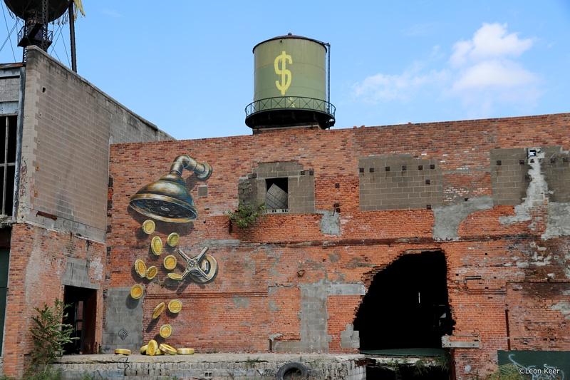 coins-mural-shower-3d-eastern-market-detroit