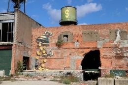 3D mural Detroit Eastern Market