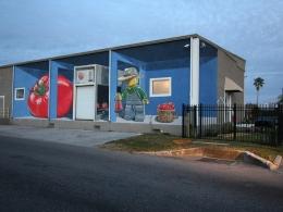 3D Mural 'Fertilizer' Tampa