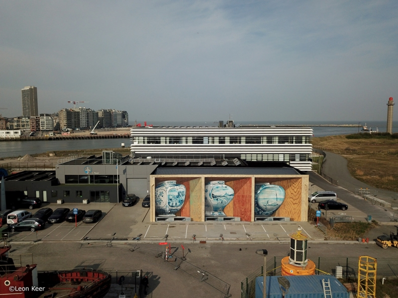 drone-oostende-leonkeer-mural-3d