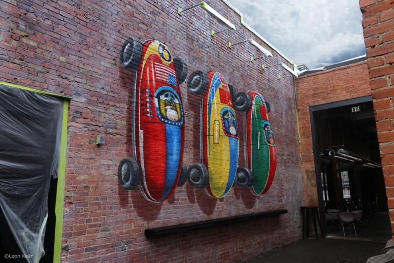 3d-mural-streetart-cars-pole-position-leonkeer