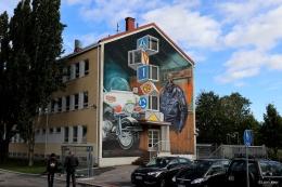 3D mural Salo Finland