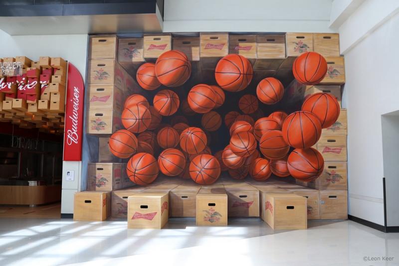 painting-3d-leonkeer-la-lakers-staples-basketball