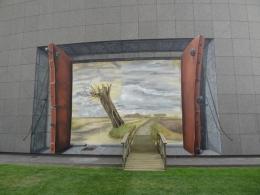 3D Mural Vincent Van Gogh