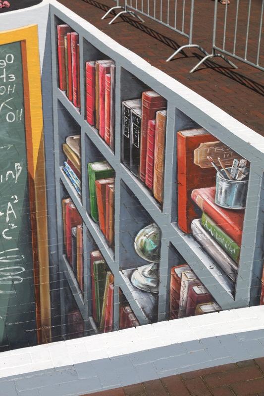 books-streetart-leonkeer