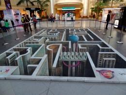 3D street art Kuwait