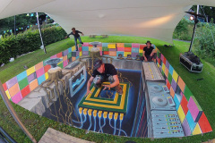 3D street art Way Out West