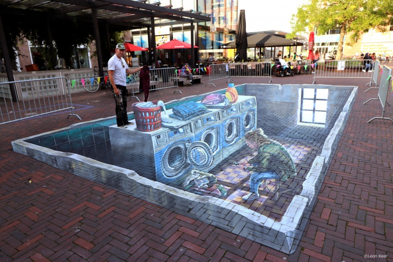 leonkeer-3d-laundry-washing-streetpainting-acrylic-delft