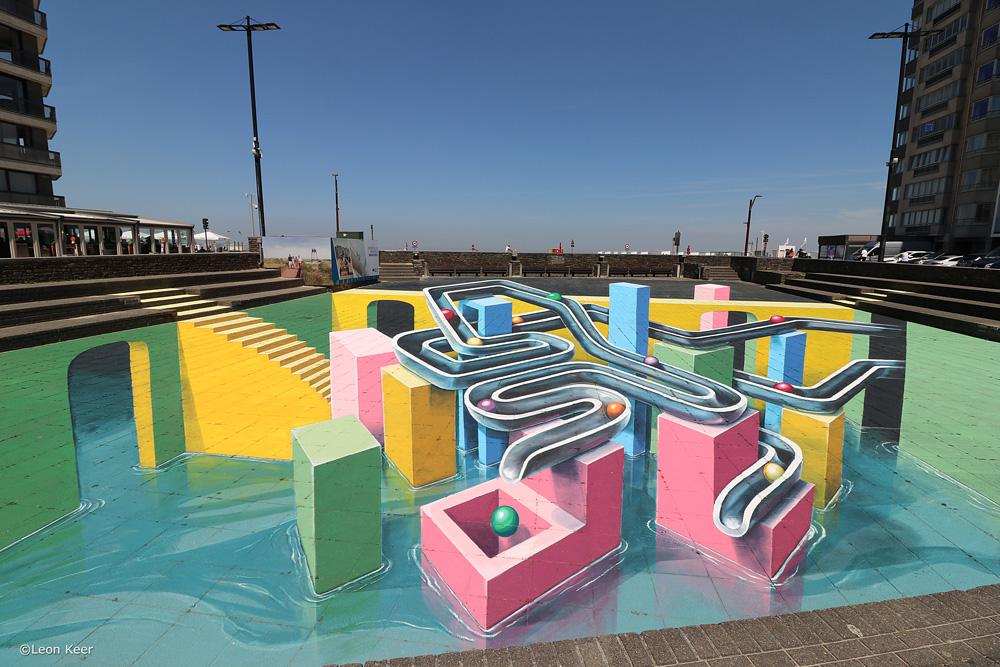 3d-streetart-leonkeer-knokke-heist