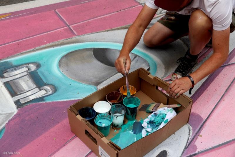 leonkeer-painting-floor-3d-montreal-fakenews