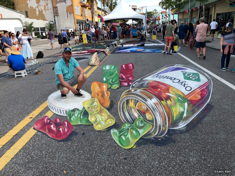 leonkeer-3dstreetpainting-chalk-oxycontin