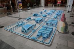 3D street art in Trondheim