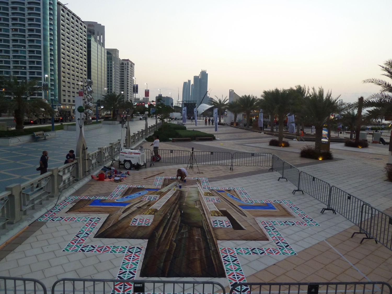 3d-chalk-painting-abu-dhabi