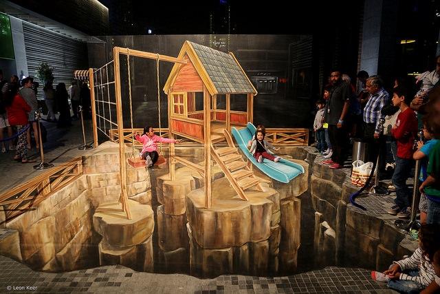 3d Street Art Jumeirah Beach Jpg