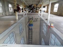 Cons Space 002 Berlin 3D streetart