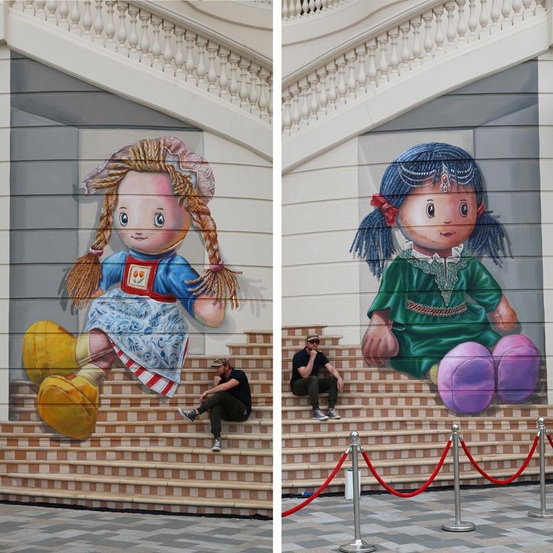 dolls-leonkeer-mural