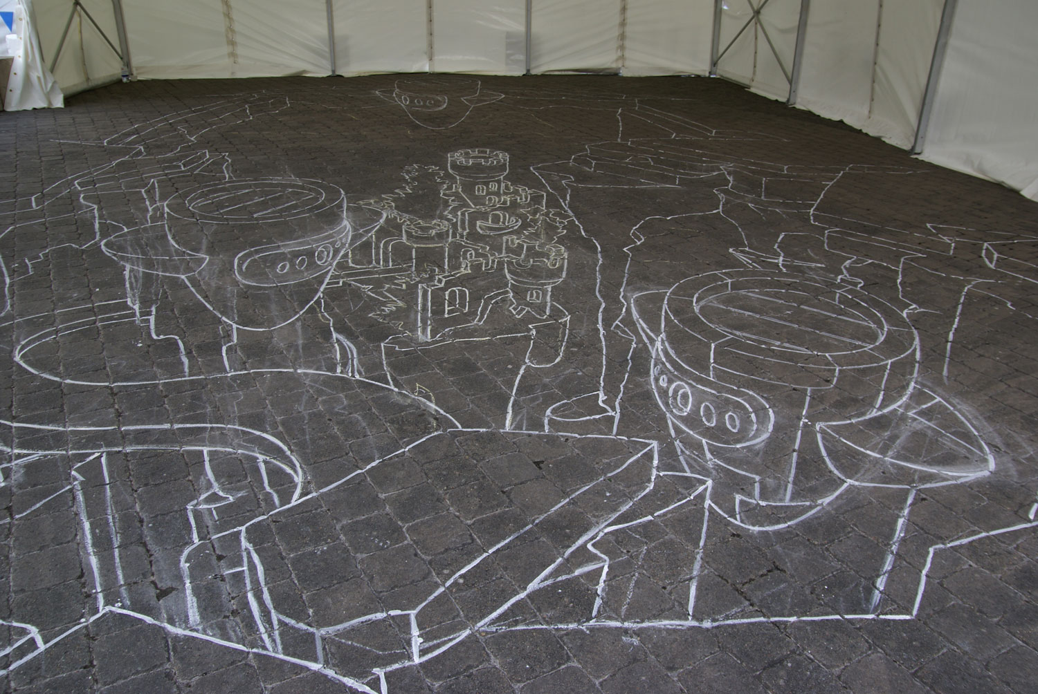 1st-day-3d-street-painting