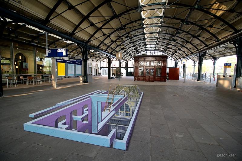 leonkeer-escher-station-leeuwarden