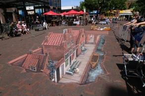 Straatje van Vermeer 3D