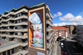 Mural 'Shattering' Helsingborg