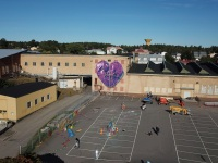 drone-purple-heart-rope-soderhamn-present-gift-wallpainting