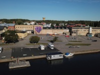 drone-soderhamn-leonkeer-mural-3d-wrapped-purple-heart