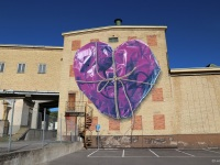 mural-leonkeer-wrapped-purple-heart-3d-bigmural-streetart