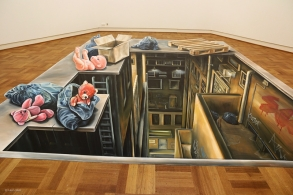 3d painting at Museum Arnhem