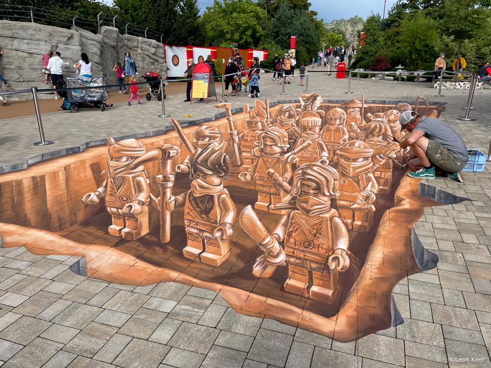 wip-leonkeer-3dstreetpainting-terracotta-army-lego