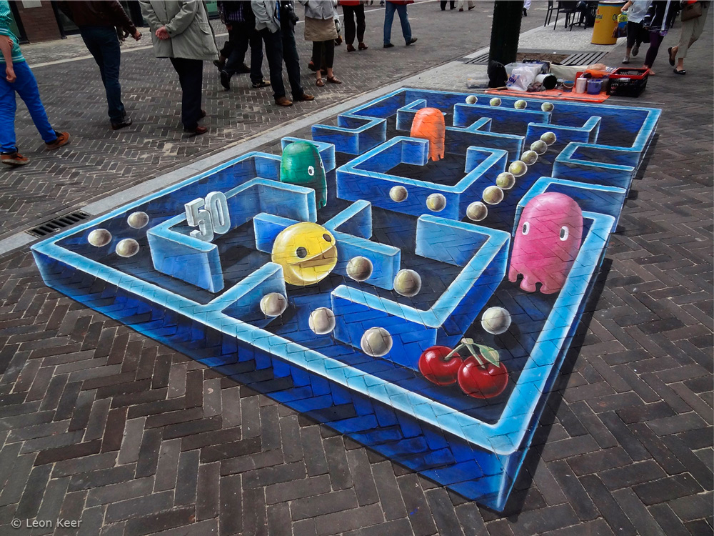 10 Street Art Creations That Will Make You Look Twice