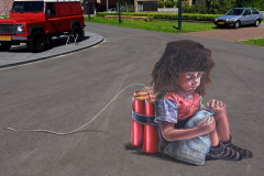 4D street art at Twente Biennale