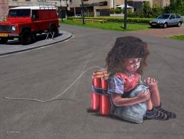 4D street art at Twente Biennale