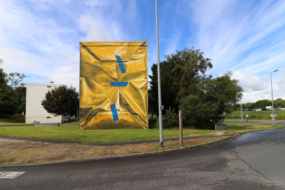 3d-mural-wallpainting-leonkeer-yellow-package-wrap-building