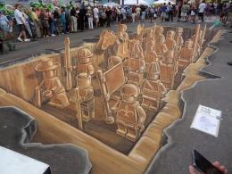 Lego Terracotta Army Sarasota 2011