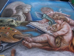 Steynfestijn street painting festival Zeist
