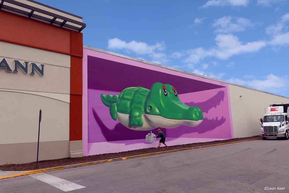3D mural Gainesvilles