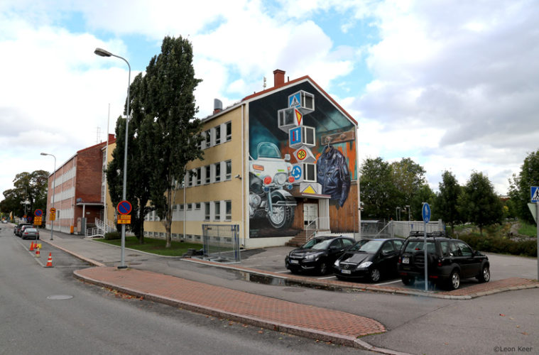 3D Mural Leon Keer Salo Finland