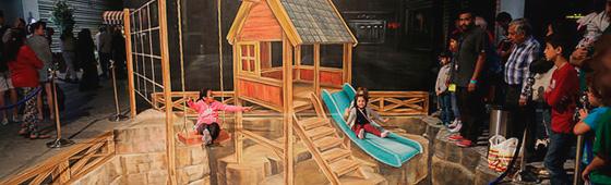 3D Dubai Canvas