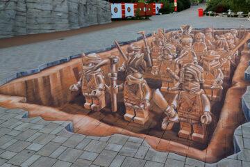 Ninjago Lego terracotta army by Leon Keer & Massina