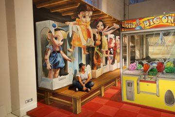 3D streetpainting - 3D streetpainting XL - Anamorphic painting - 3d Street Art - Magic City - Leon Keer - straattekening - straatkunst