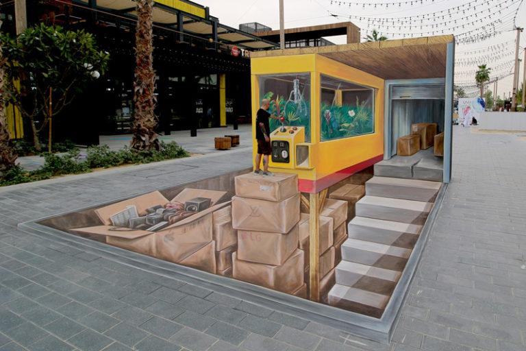 Leon Keer Dubai Canvas Lamar