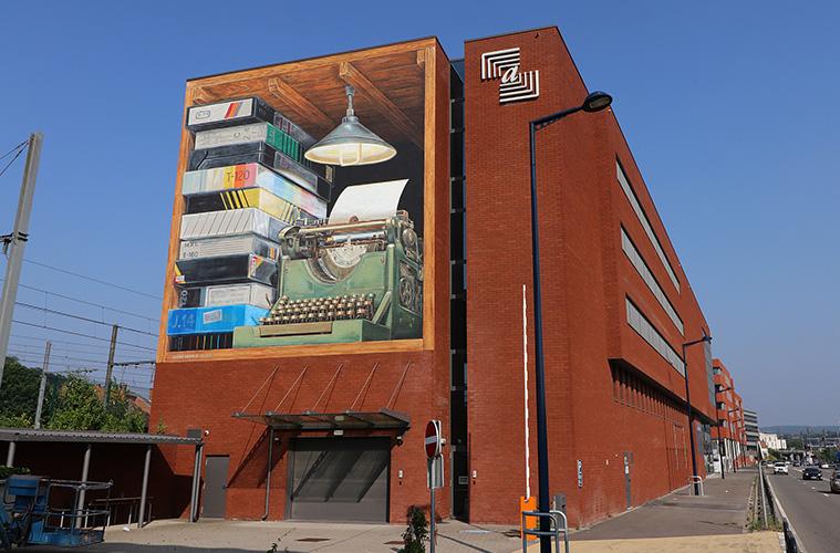 3D Mural by Leon Keer Namur
